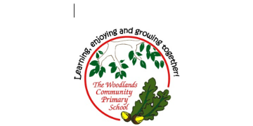 The Woodlands Community Primary School logo