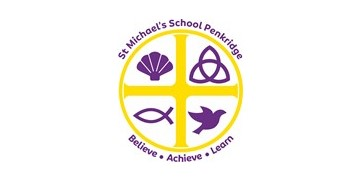 St Michael's CofE (A) First School, Penkridge logo