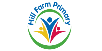 Hill Farm Primary School in Coventry logo