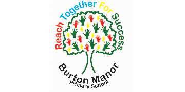 Burton Manor Primary School logo