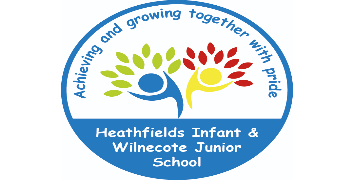 Heathfields Infant / Wilnecote Junior School Federation logo