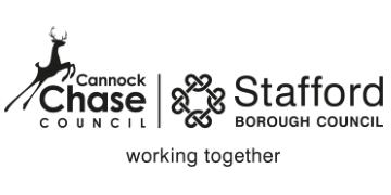 Stafford Borough & Cannock Chase District Councils logo