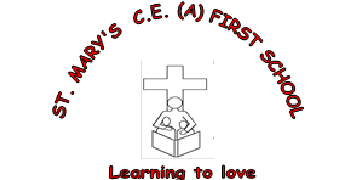 St Mary's CofE (C) First School, Wheaton Aston logo