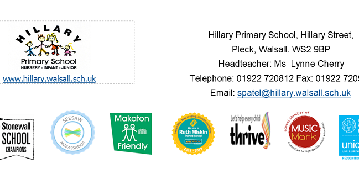 Hillary Primary School logo